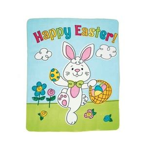 Easter Fleece Throw